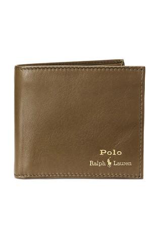 Polo Ralph Lauren® Contrast Logo Leather Billfold Wallet