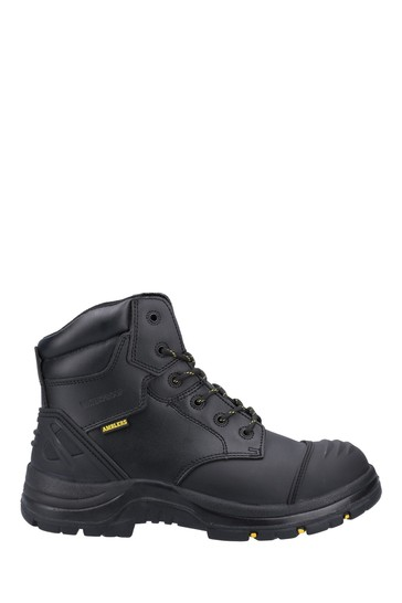 Amblers Safety Black AS305C Winsford Lace-Up Waterproof Safety Boots
