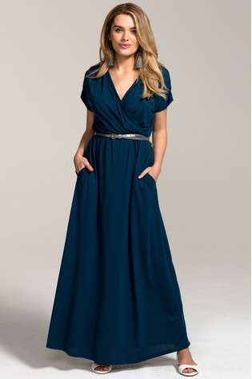 HotSquash Teal Maxi Dress