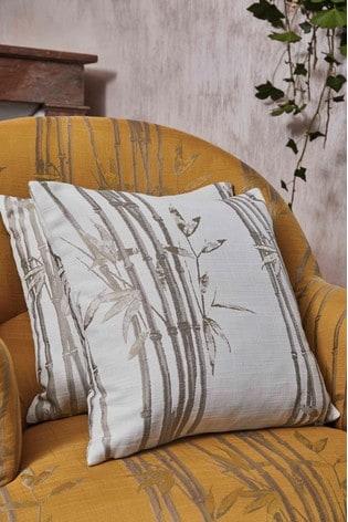 The Chateau by Angel Strawbridge Bamboo Cushion