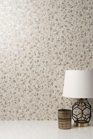 Decorline Natural Terrazzo Wallpaper