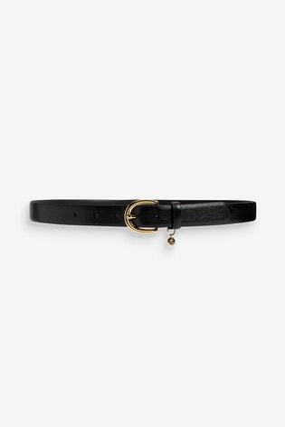 Lauren Ralph Lauren® Black Leather Belt
