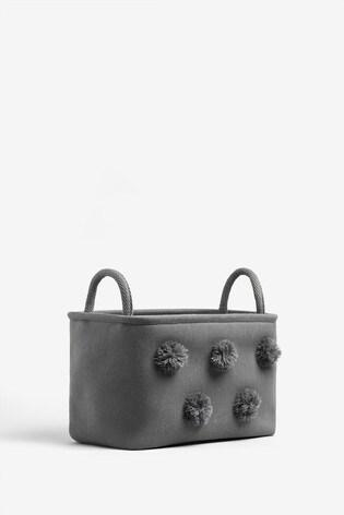 Pom Pom Storage Basket