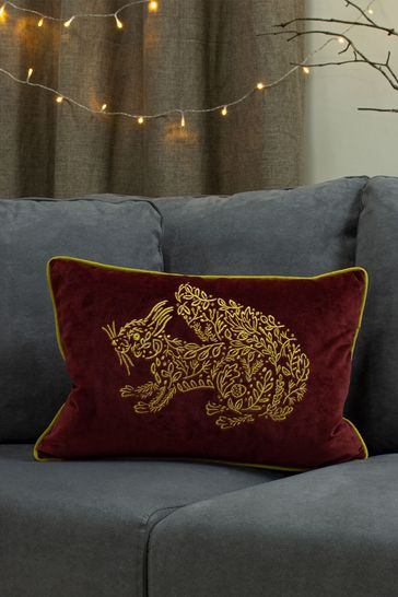 Forest Fauna Owl Cushion by Furn
