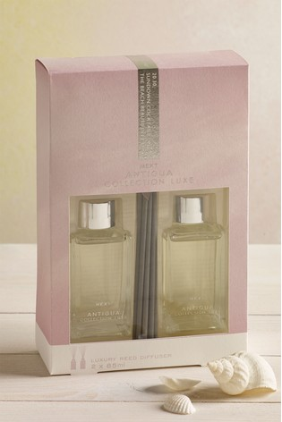Set of 2 Antigua Collection Luxe 85ml Diffusers