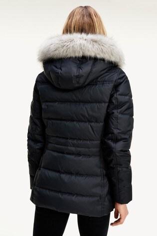 Tommy Hilfiger Black Tyra Down Jacket