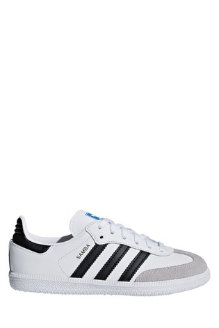 adidas Originals Samba Kinder Baby Sneaker Vintage Leder