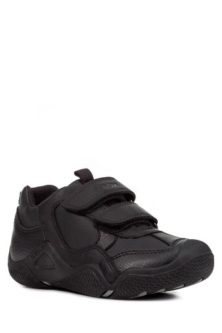 Geox Junior Wader Black Trainer