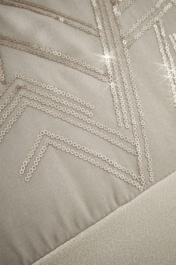 Velvet Sparkle Eyelet Curtains by Catherine Lansfield