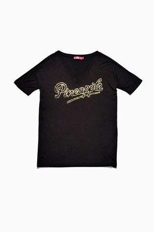 Pineapple V-Neck T-Shirt