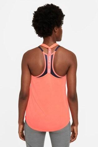 Nike Dri-FIT Orange Training Vest