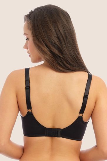 Fantasie Black Fusion Underwire Full Cup Side Support Bra