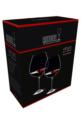 Set of 2 Riedel Vinum Pinot Noir Wine Glasses