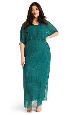 Studio 8 Green Hera Beaded Maxi Dress