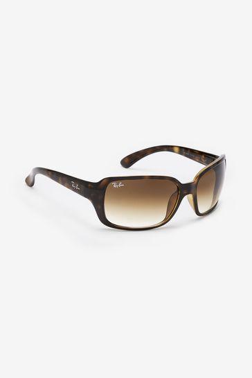 Ray-Ban® RB4068 Tortoiseshell Sunglasses
