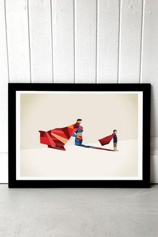 Hero by Jason Ratliff Framed Print