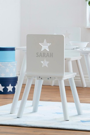 Personalised White Chair by Sweden Concepts