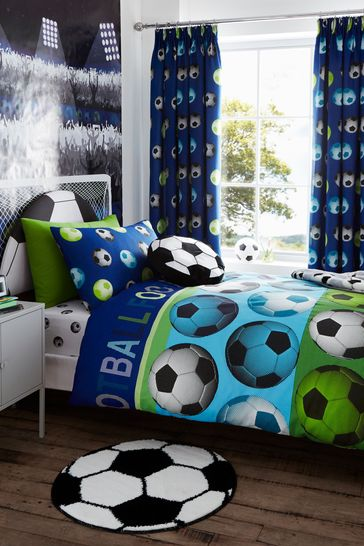 Football Duvet Cover and Pillowcase Set by Catherine Lansfield