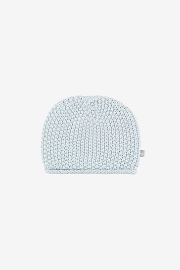 The Little Tailor Blue Baby Knitted Hat