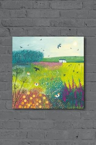 Midsummer Meadow by Jo Grundy Canvas