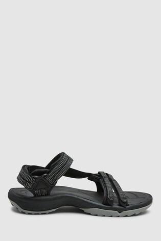 Teva® Black Terra Fi Lite Sandal