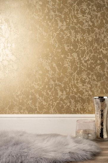 Decorline Gold Marble Wallpaper