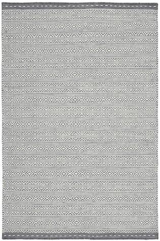 Asiatic Rugs Grey Knox Reversible Wool Dhurry Rug