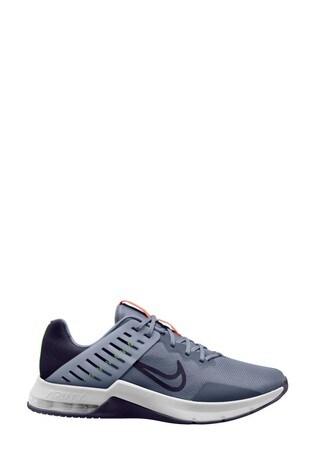 Nike Train Grey/Blue Air Max Alpha 3 Trainers