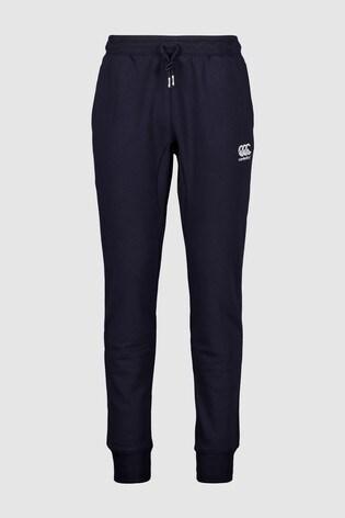 Canterbury Navy Tapered Fleece Trouser