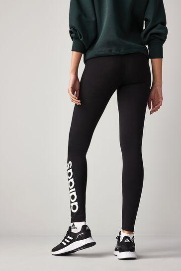 adidas Black Linear High Waisted Leggings