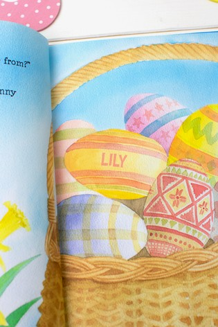 Personalised The Easter Bunny Hardback Story Book by Signature Book Publishing