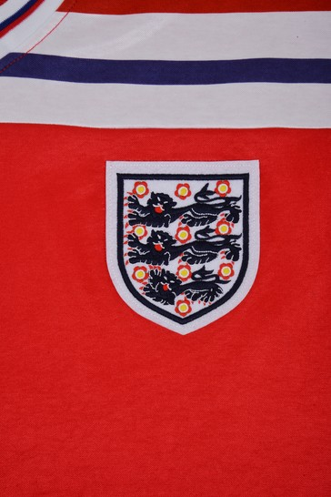 Score Draw England 1982 World Cup Finals Retro Jersey Shirt