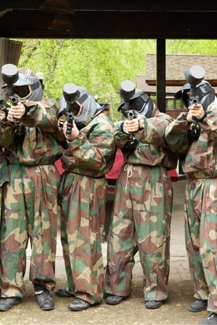 Paintball Entrance For 8 Gift Experience by Activity Superstore