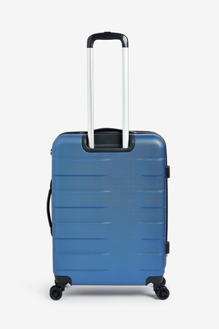 Blue Medium Hard Case With TSA Security Lock