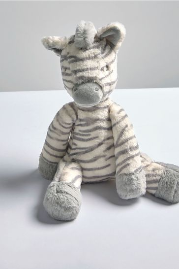 Welcome To The World Soft Toy Zebra By Mamas & Papas