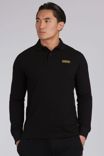 Barbour® International Long Sleeve Polo Shirt