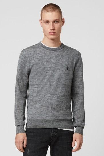 AllSaints Merino Wool Mode Jumper
