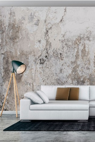 Exclusive To Next Distressed Replica Wall Mural by Eighty Two