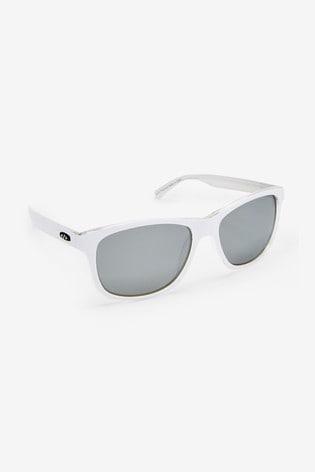 White Signature Sports Style Polarised Sunglasses