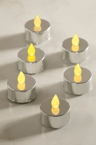 6 Pack LED Tealight Candles