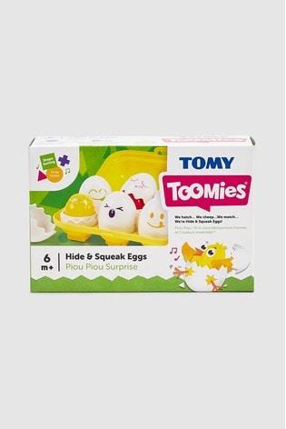 TOMY Toomies Hide And Squeak Eggs
