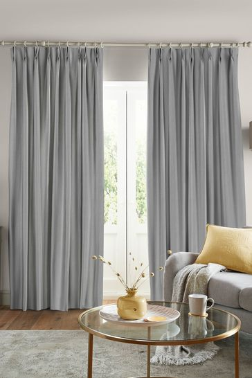 Steel Swanson Made to Measure Curtains