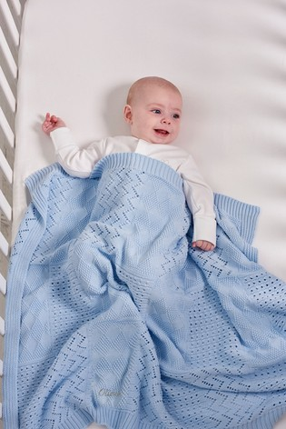 Personalised Knit Blanket