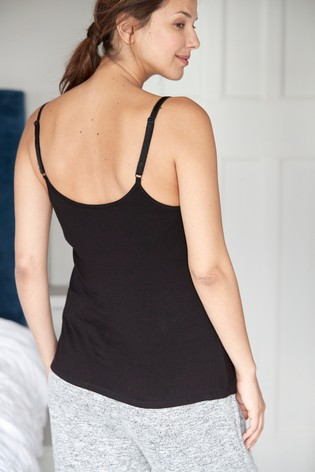 Black Maternity Invisible Support Vest