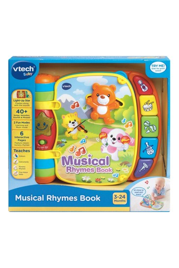 VTech Baby Musical Rhymes Book 166703