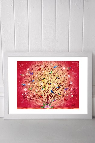 Overlooked Happiness by Fiona Watson Framed Print