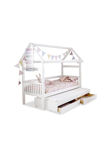 House Trundle Bed By Flexa
