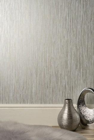 Vertical Grasscloth Wallpaper by Decorline