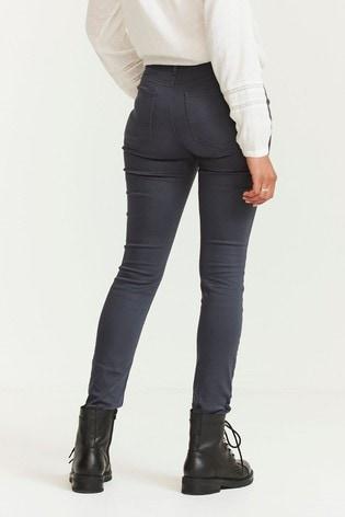 FatFace Grey Skye Skinny Trousers