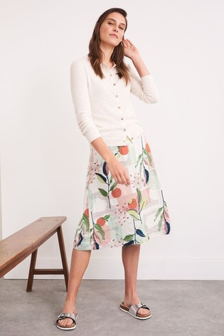 White Stuff Sprouting Reversible Skirt